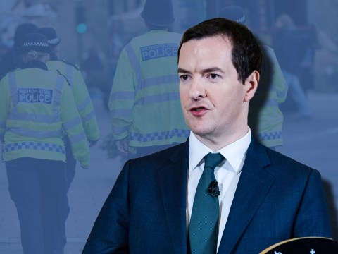 George Osborne refuses to rule out police cuts despite 'severe' terror threat