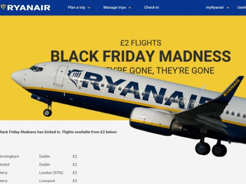 Black Friday: Ryanair advertises £2 tickets to destinations such as Barcelona and Dublin