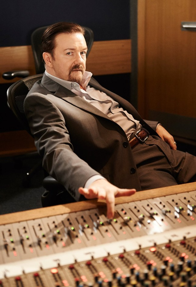 David Brent – The First Image from Life on the Road
