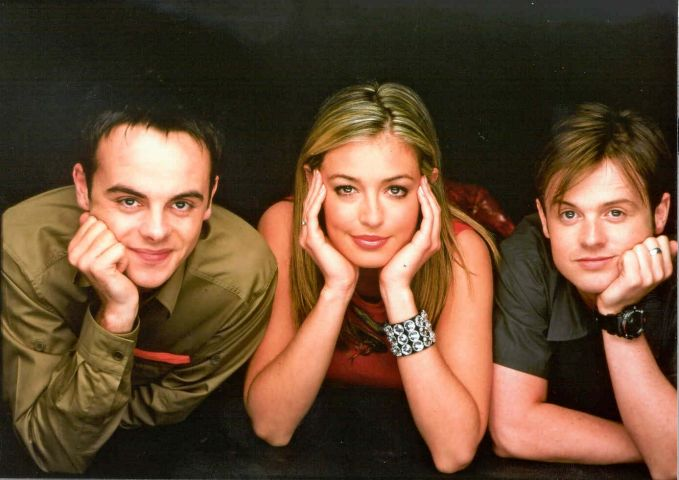 Ant and Dec and Cat Deeley (middle)