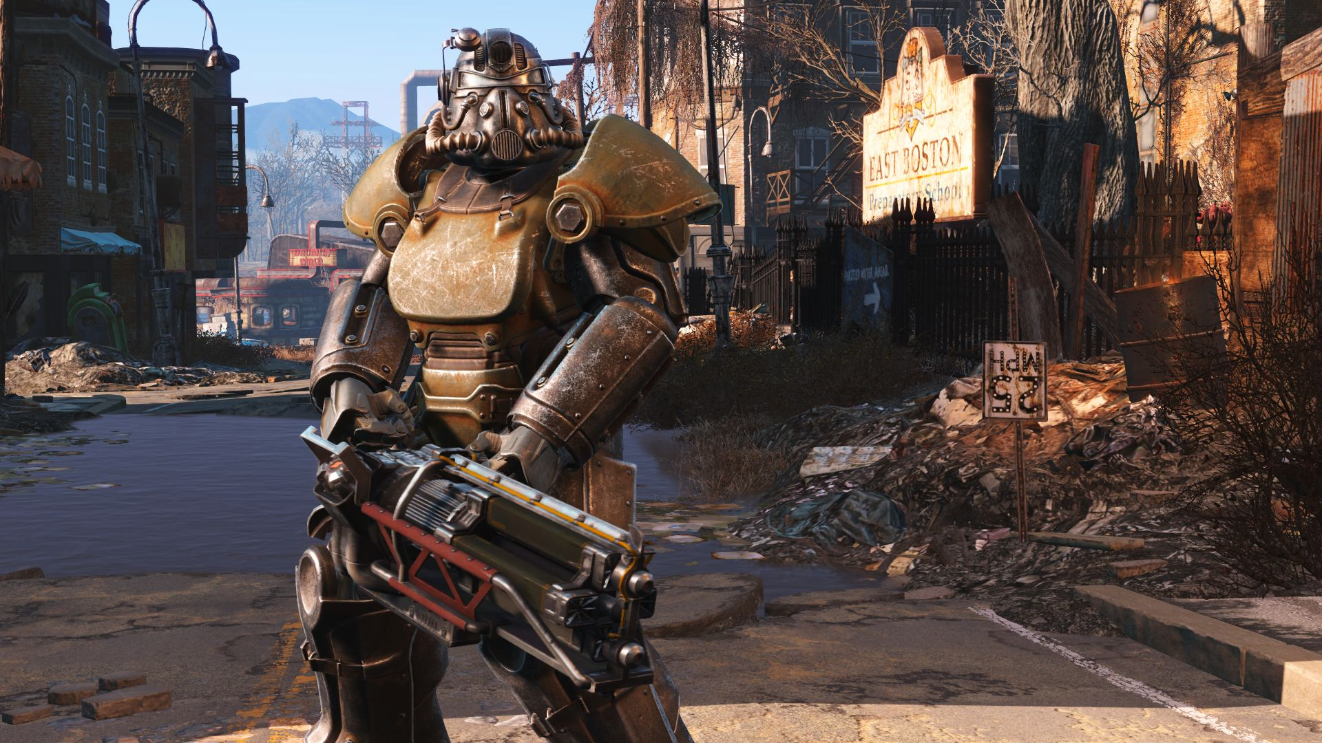 Fallout 4 (PS4) - post-apocalyptic technology