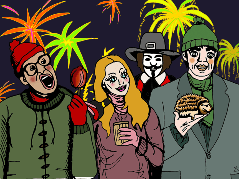 21 things that happen every bonfire night