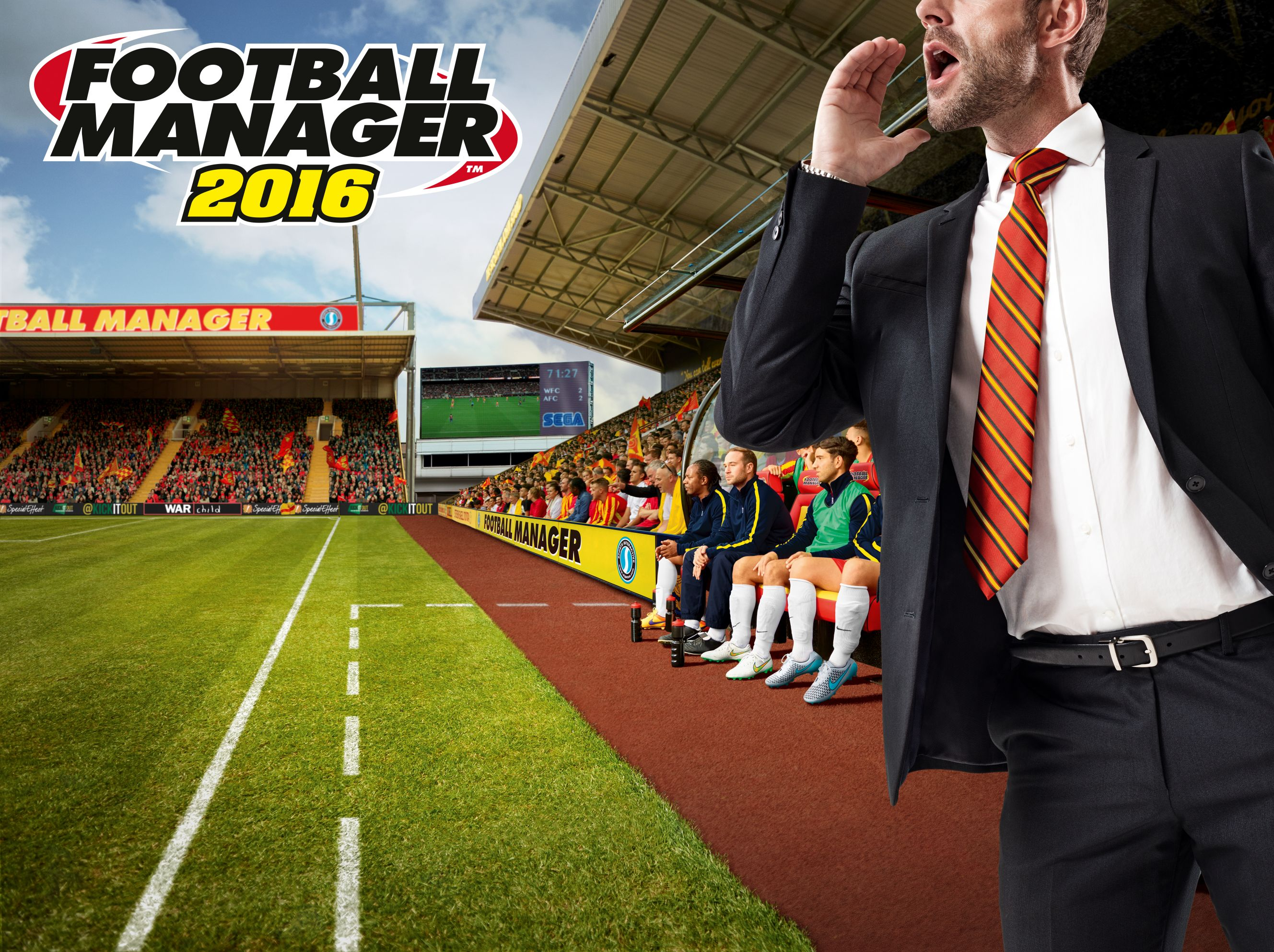 Football Manager 2016 review – match replay