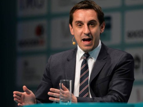 Gary Neville says Manchester United are two players away from easily winning the Premier League title