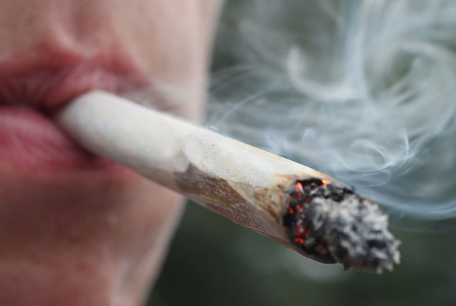 people become addicted to cannabis Getty