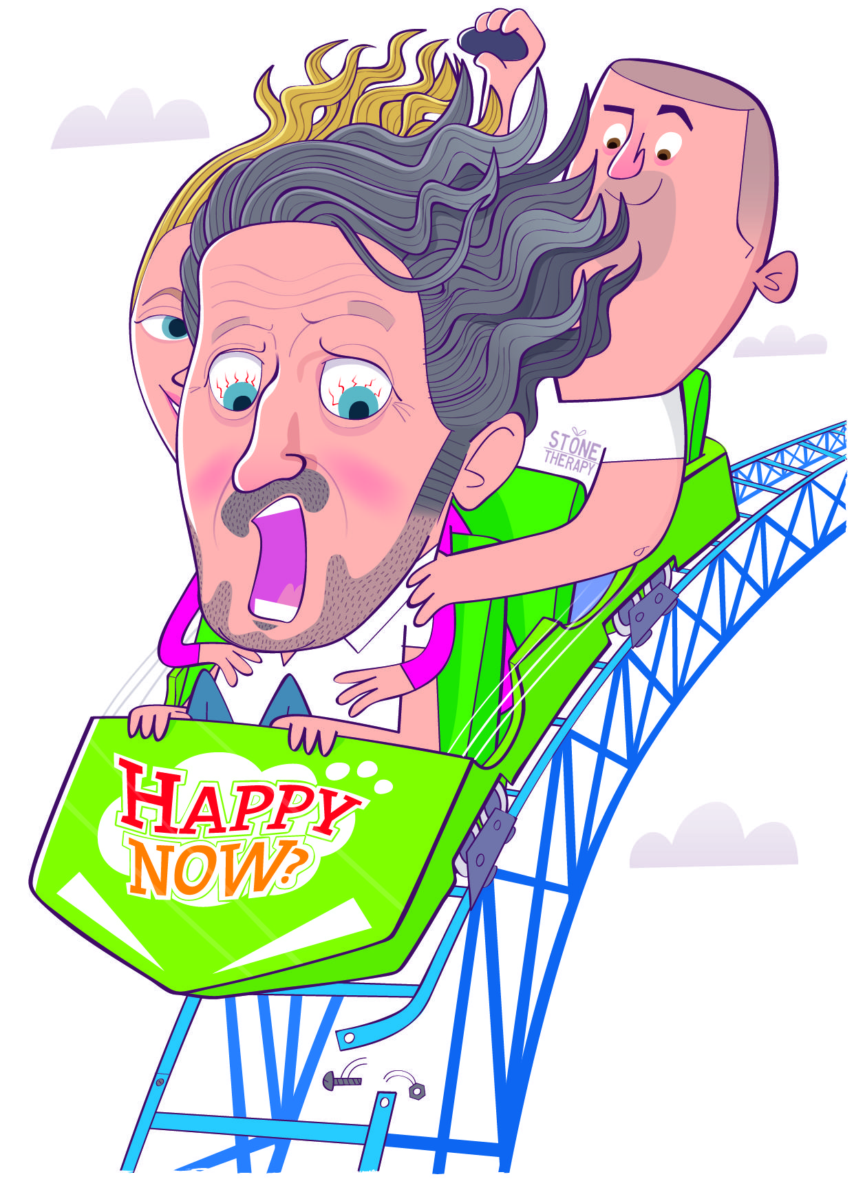 Richard Herring: My joy is spoiled by a wee dilemma