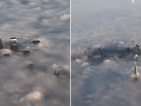 London was coated in a thick blanket of fog and everyone took amazing photos