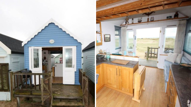 Beach hut on sale for £250,000 is proof the property market has finally lost its mind