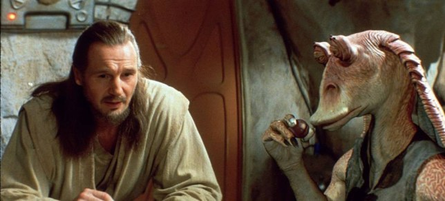 Scene from the 1999 Film : Star Wars : The Phantom Menace QUALITY AT SOURCE: 2ND GENERATION-- STAR WARS: EPISODE 1-THE PHANTOM MENACE-- c. Lucasfilm Ltd. & TM. All rights reserved. FOR FURTHER INFORMATION CONTACT GERALDINE MALONEY AT FOX ON 0171 437 7766...STAR WARS 1-34