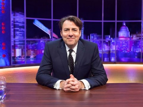 Who will be on the Jonathan Ross show on Saturday night?