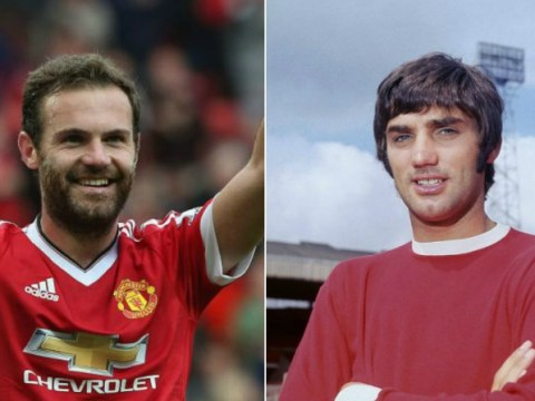 Juan Mata pays touching tribute to Manchester United legend George Best