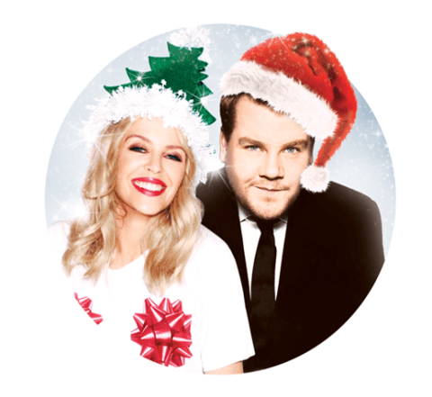 Kylie Minogue's new Xmas song Only You is a reminder that James Corden really can sing
