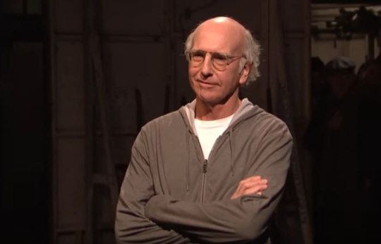 Larry David on SNL (Picture: NBC)