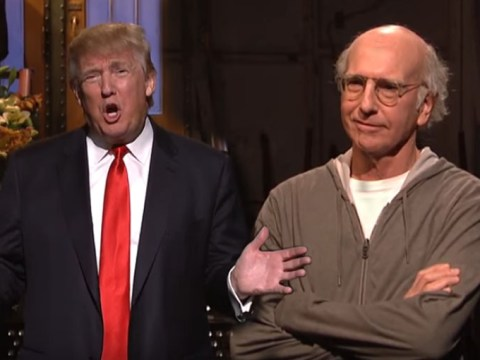 Larry David called Donald Trump a racist during his Saturday Night Live opening monologue