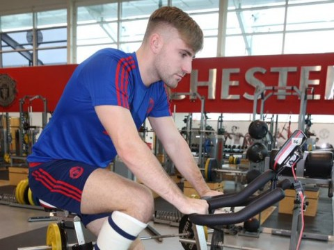 Manchester United defender Luke Shaw steps up recovery from injury nightmare