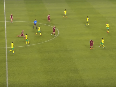 Georgy Makhatadze scores superb long-range free-kick for Russia vs South Africa in Under-17 World Cup – video