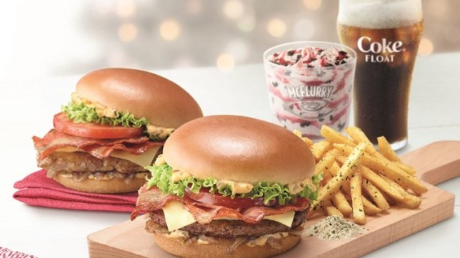 mcdonalds introduce truffle fries as part of festive menu