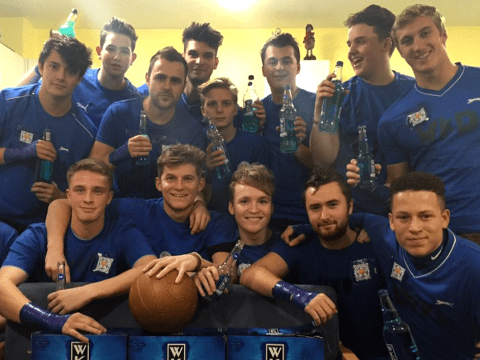 Jamie Vardy gets fancy dress treatment on university night out