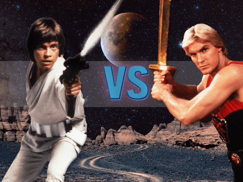 Flash Gordon is 35 years old and it's STILL better than Star Wars