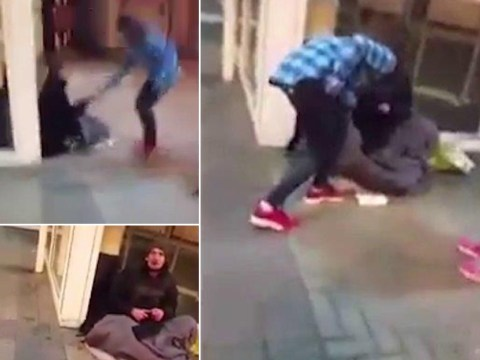 Teenagers spend their last £15 pocket money on food and blankets for a homeless man