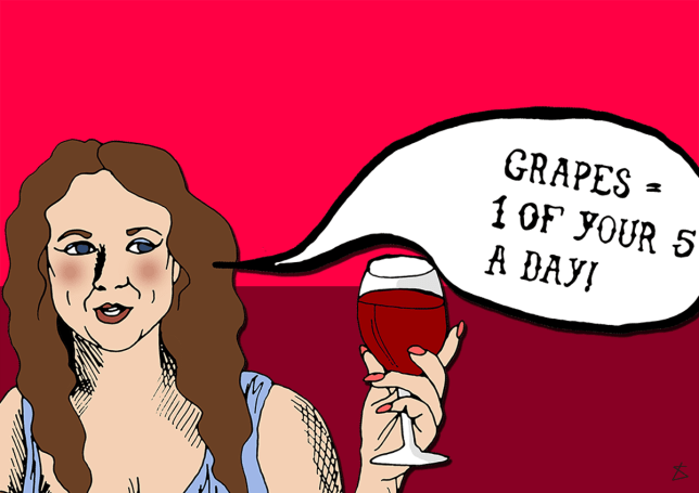 30 really good reasons for mums to have glass of wine(Picture: Liberty Antonia Sadler)