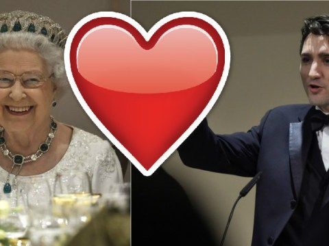 The Queen just flirting with the 'sexiest politician in the world'