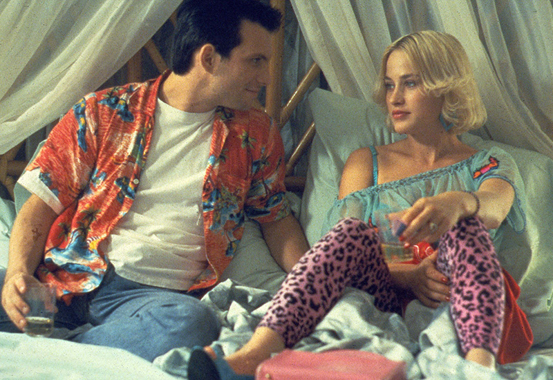 No Merchandising. Editorial Use Only. No Book Cover Usage. Mandatory Credit: Photo by Moviestore/REX Shutterstock (1632336a) True Romance, Christian Slater, Patricia Arquette Film and Television