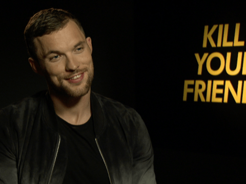 Kill Your Friends' Ed Skrein: 'I want to play Panthro from Thundercats!'