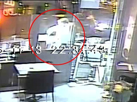 Footage from Paris attacks shows woman escape execution by terrorist after gun jams