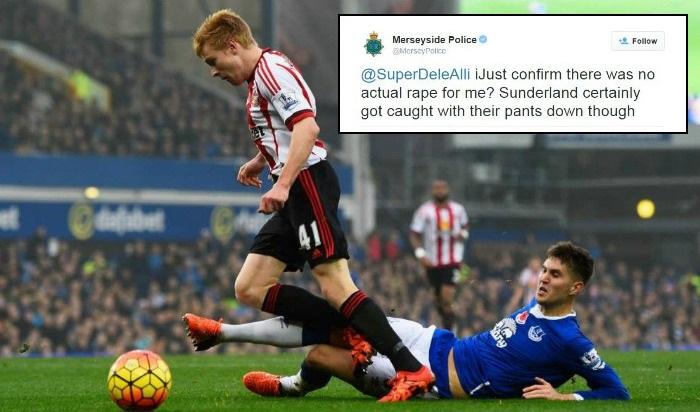 Merseyside Police launch full investigation into Twitter rape joke following Sunderland defeat