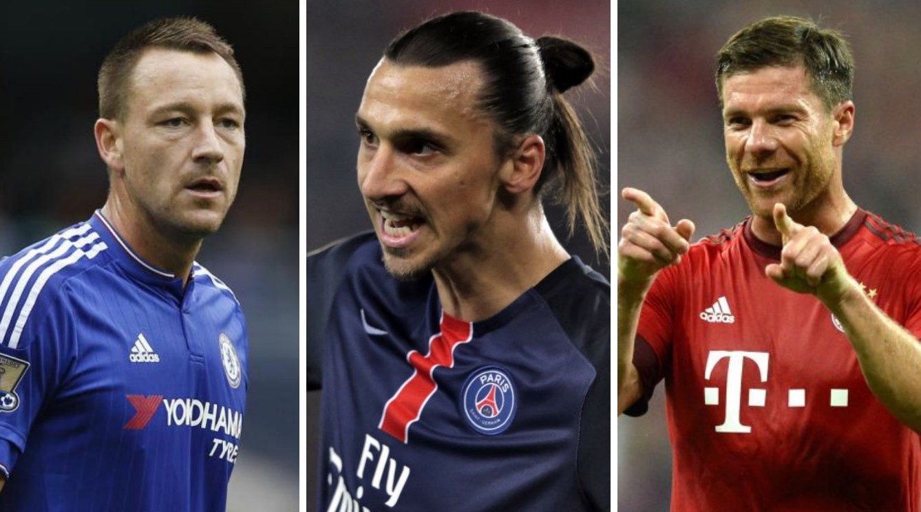Chelsea duo John Terry and Branislav Ivanovic among biggest names available on free transfers next summer
