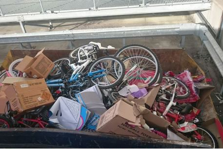 Tesco under fire for 'disgusting' waste after dumping '£4,000 worth' of new bikes