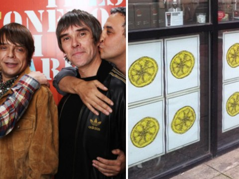 Are The Stone Roses trying to tell us something with these lemon posters?
