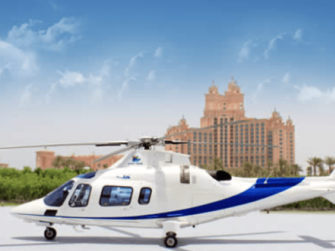 You can get an Uber helicopter
