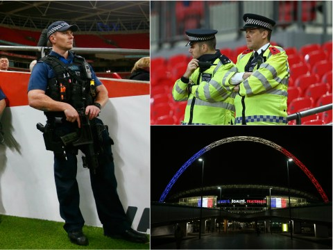 Massive police operation ahead of England vs France match at Wembley Stadium