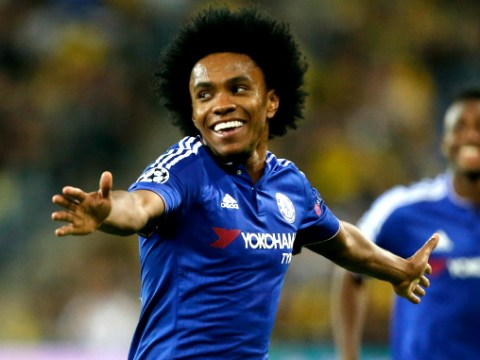 It's official: Chelsea's Willian is best free-kick taker in Europe