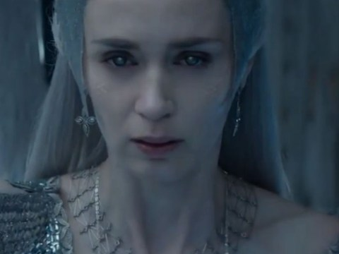 Emily Blunt channels some serious evil Elsa from Frozen vibes in first trailer for The Huntsman: Winter's War