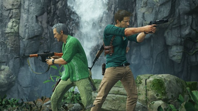 Uncharted 4 multiplayer (PS4) - Sully and Nate team-up again