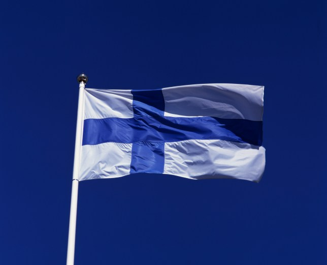 The Finnish flag (Picture: Getty Images)