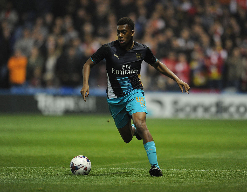 Alex Iwobi potentially in line for shock Arsenal midfield role