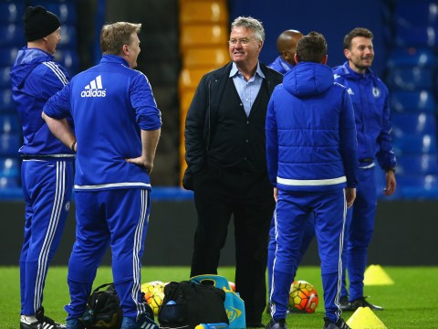 What team will Guus Hiddink pick for Chelsea's Premier League game with Watford?