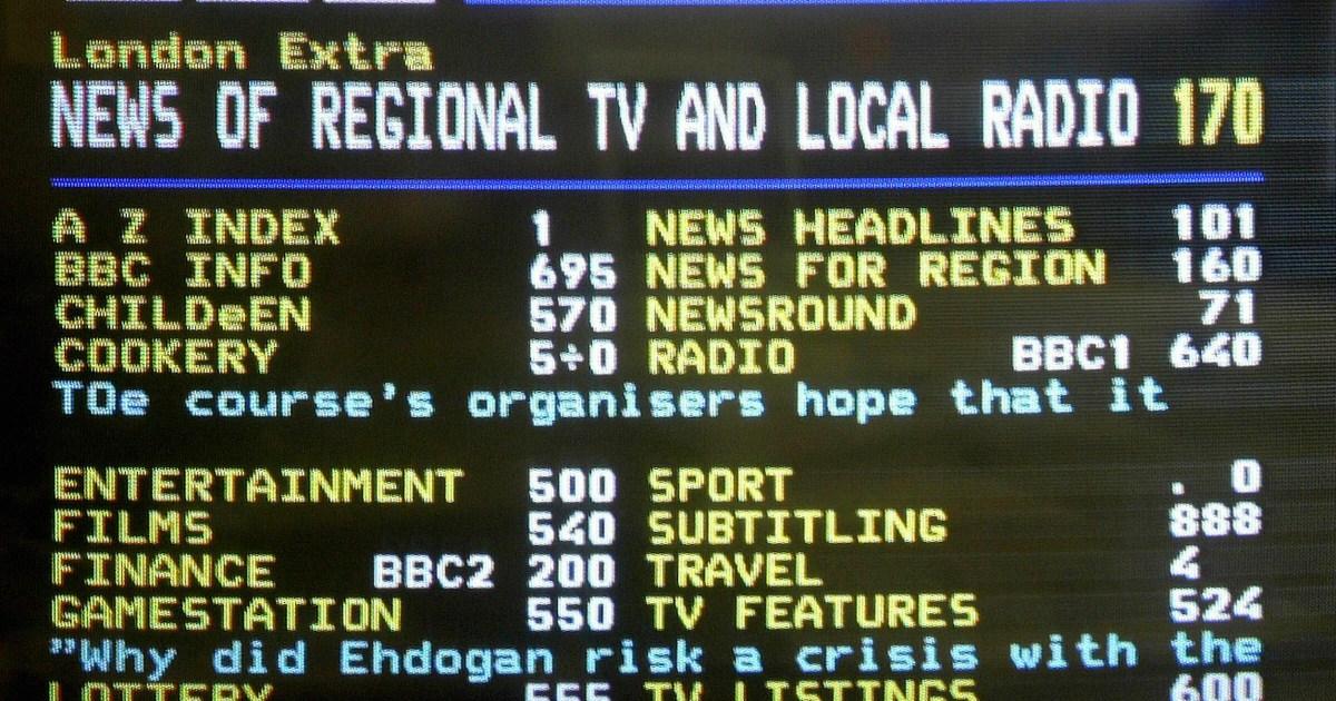 Premier League live scores: Ceefax 337 videprinter recreated online