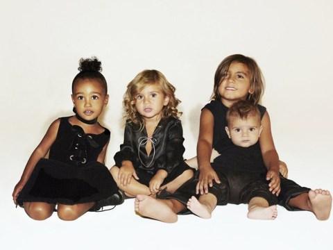 The Kardashians' Christmas card features all their children – but a distinct lack of Kardashians
