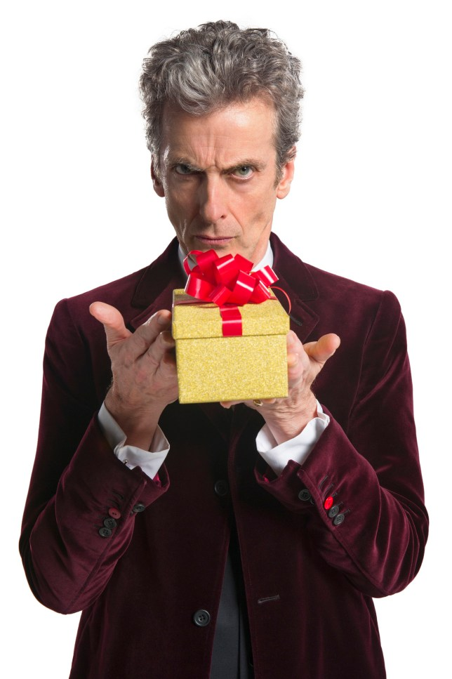 Doctor Who Christmas special 2015, The Husbands of River Song starring PETER CAPAldi