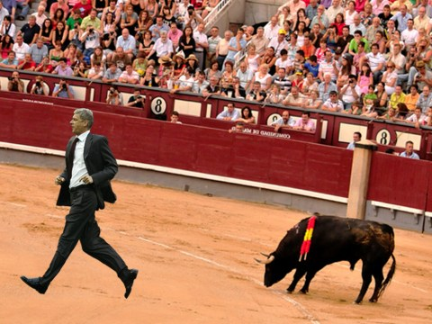 Arsenal players actually average more injuries than bullfighters