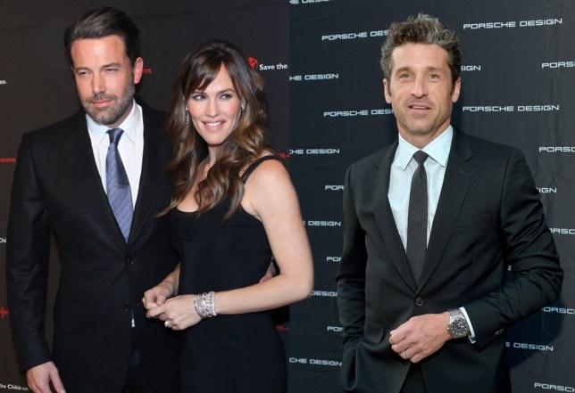 Jennifer Garner 'dating Patrick Dempsey' Credit: Getty Images