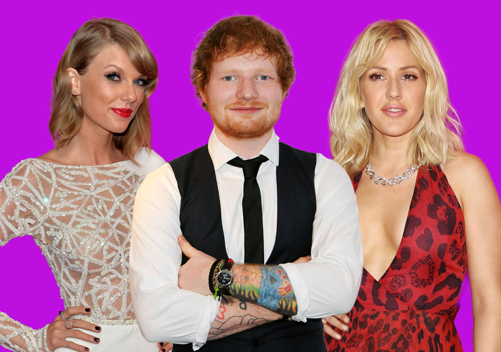 Grammy nominations: BFFs Taylor Swift and Ed Sheeran will battle it out for Record and Song of the Year