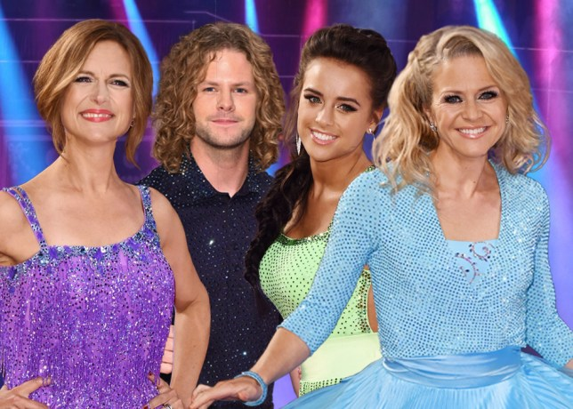Kellie, Georgia, Jay or Katie? Who will win the Strictly Come Dancing 2015 final? Credit: REX/Getty Images/METRO