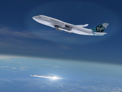 Virgin to adapt a Boeing 747 into a flying launchpad for their Galactic spaceship