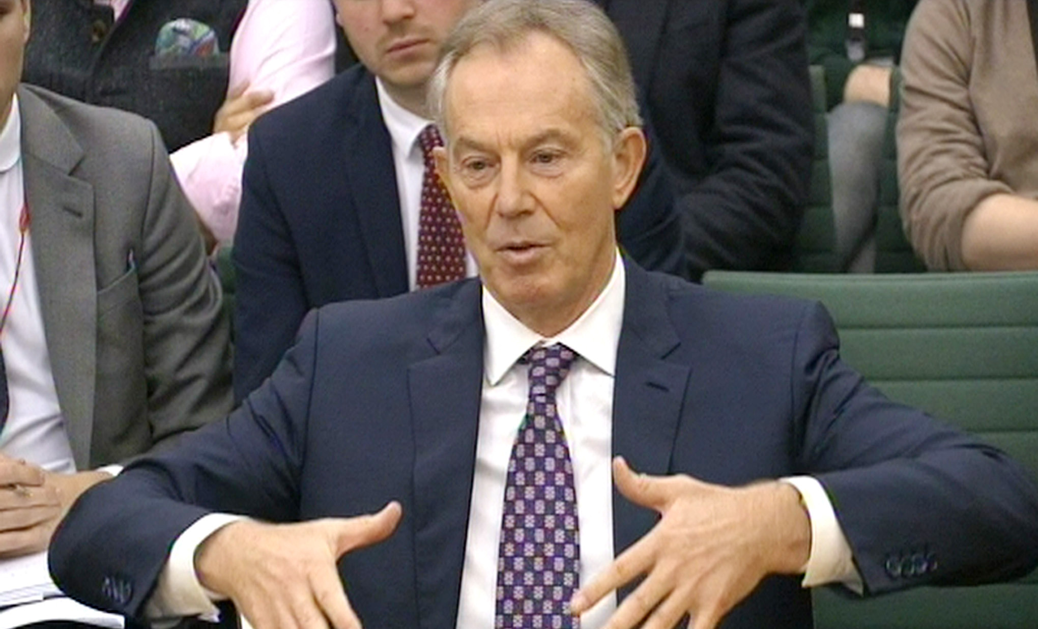 Tony Blair says engaging with Colonel Gaddafi stopped Libya building chemical and nuclear weapons